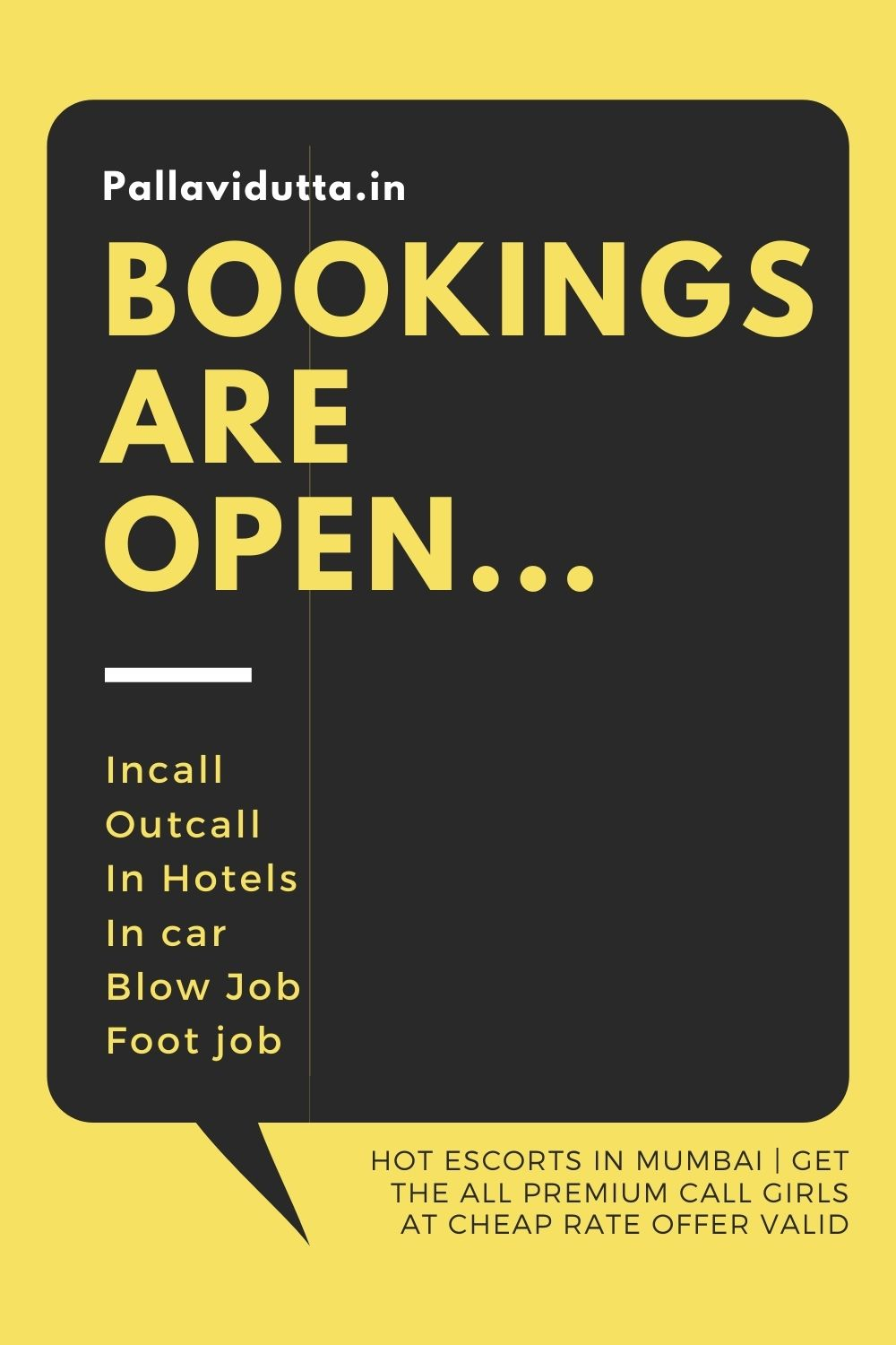 bookings are open